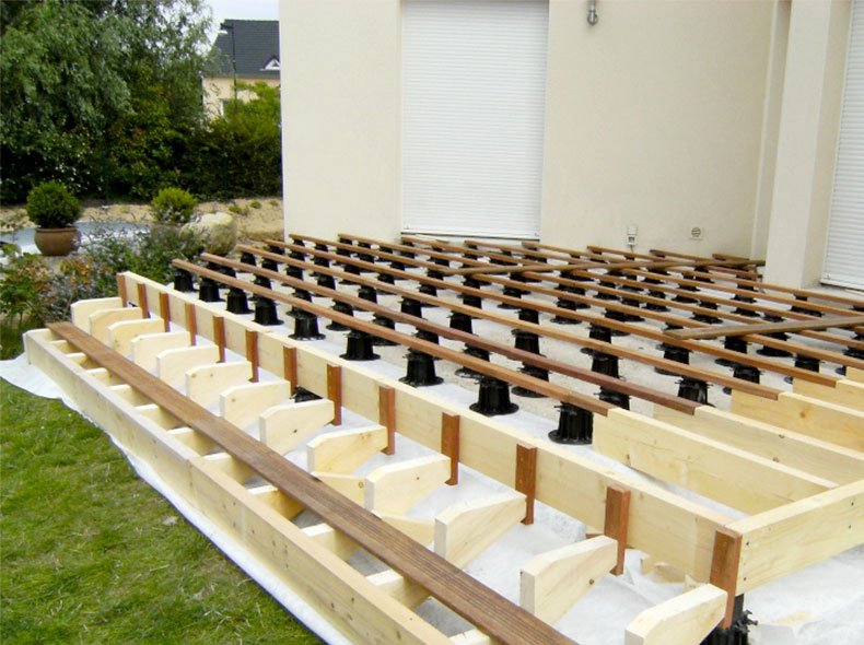 Les Modules De Terrasse Plots De Terrasse Pour Surélévation